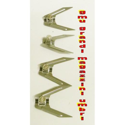 Fermacarne forchetta 4pz per spiedo girarrosto grill barbecue - Piatto doccia triangolare ...