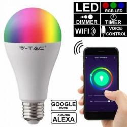 LAMPADINA LED WI-FI E27 10W BULBO A60 RGB