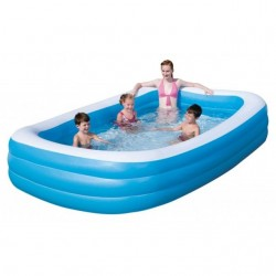 PISCINA FAMILY 3 ANELLI 305X183X56H BESTWAY