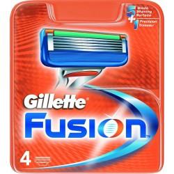 GILLETTE FUSION RICARICA X4 RICAMBI RASOIO