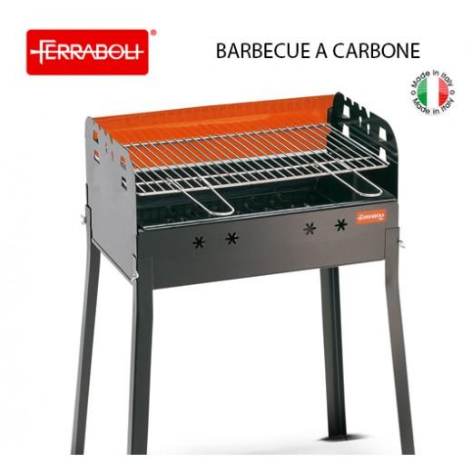 BARBECUE A CARBONE GRIGLIA CM 56X35 LEDRO