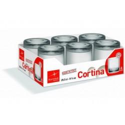 BICCHIERE CORTINA ACQUA CL25.5 CONF.6PZ