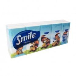 FAZZOLETTI LUCART SMILE 10PZ X  3 CONFEZIONI