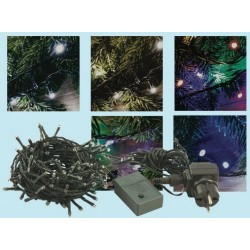 CATENA LED 180 MULTICOLOR PER ESTERNO LUCI NATALE