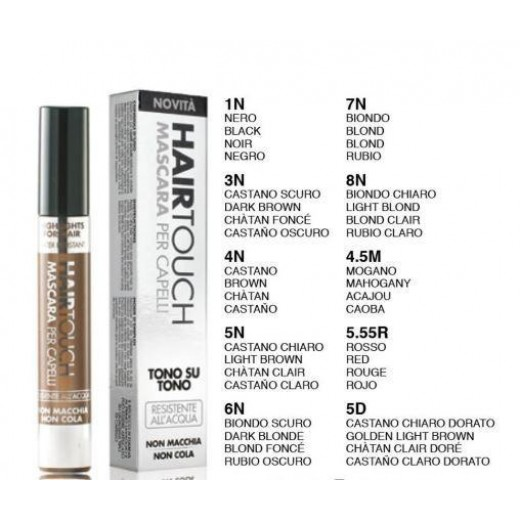 HAIR TOUCH MASCARA CAPELLI 6N 18ML BIONDO SCURO