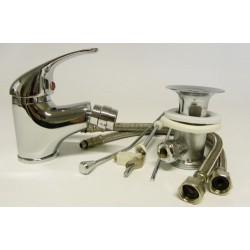 Miscelatore mix rubinetto monocomando bidet completo 1202