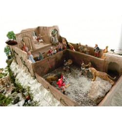 Presepe Casa Domus con Arena Addobbo Accessori