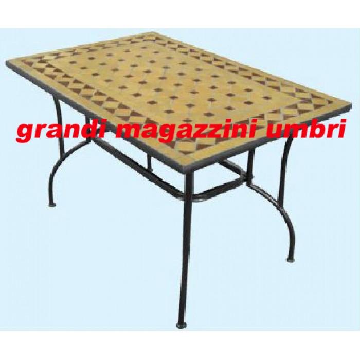 Tavolo ferro battuto stilnovo esterno for Tavolo ferro esterno